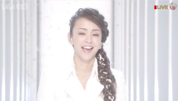 ▲即將在2018年引退的安室奈美惠,最後一次登上《紅白歌唱大賽》舞台。(圖/翻攝NHK)