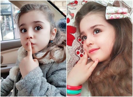 ▲伊朗女童星被封為小迪麗熱巴。(圖/翻攝自網路)