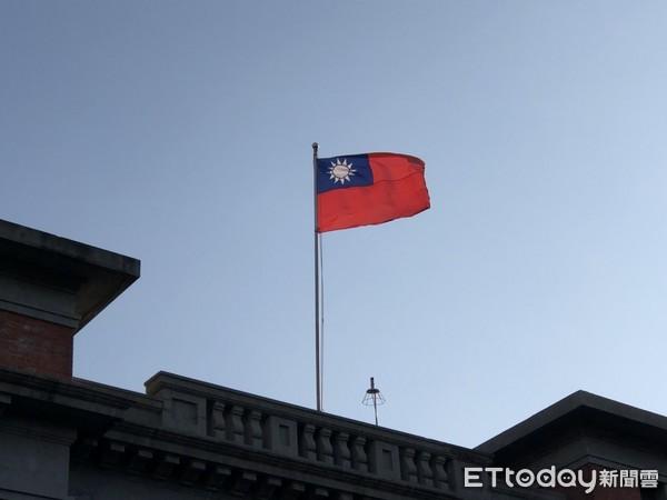 國旗、青天白日滿地紅。(圖/記者陳俊宏攝)