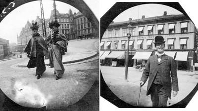125年前「挪威第一狗仔」身藏小相機,偷拍陌生男女500張
