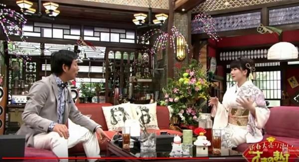 ▲▼福原愛回日本上新年特別節目,暢談家庭生活。(圖/翻攝自《關西電視台》推特)