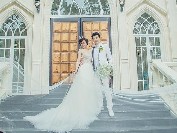 ▲文汶吳皓昇10張婚紗照曝光 。(圖/艾薇婚紗提供)