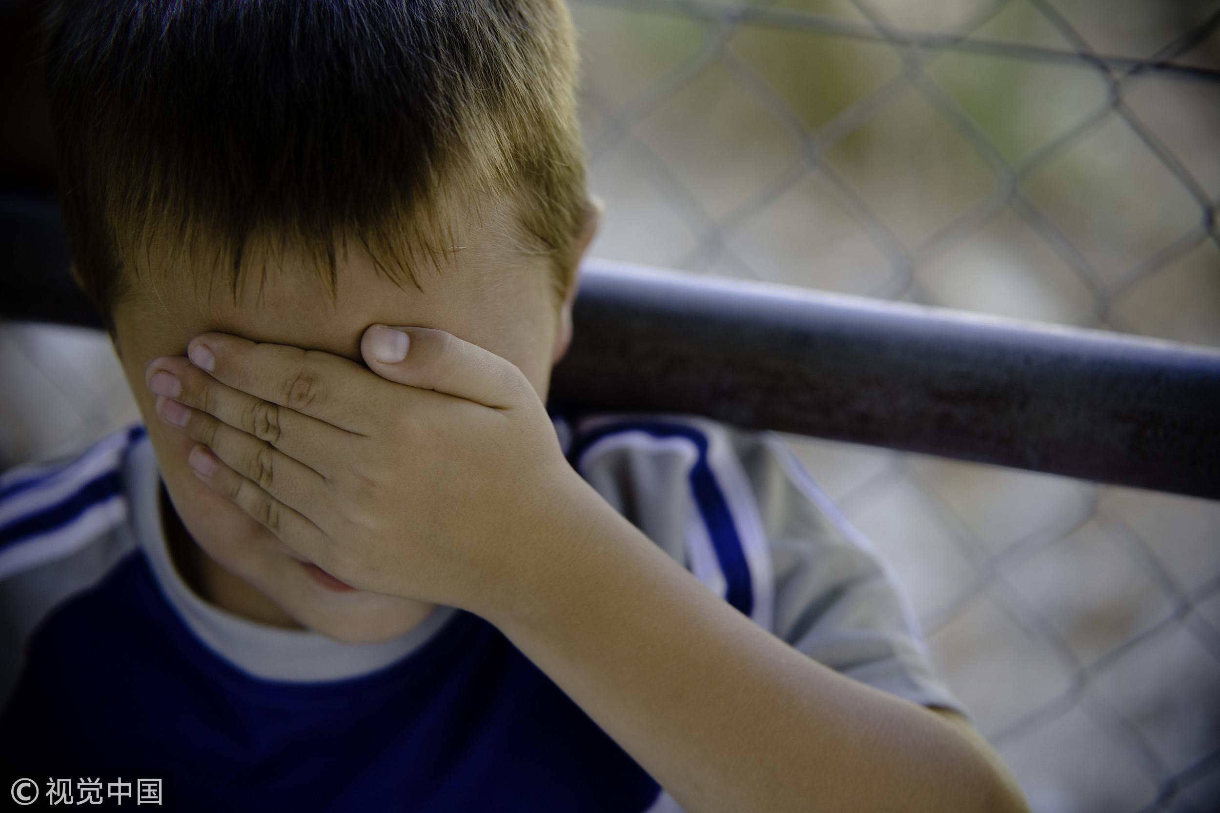 ▲男童,男孩,小學生,暴力,家暴,體罰,責備,校園暴力,懲罰。(圖/CFP)