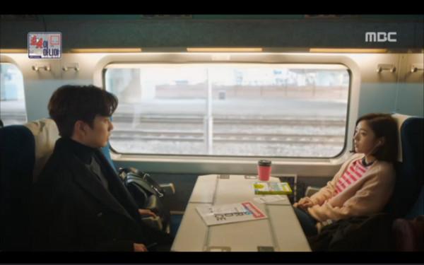 ▲金敏圭、趙智雅竟在最後一幕相遇。(圖/翻攝自MBC)