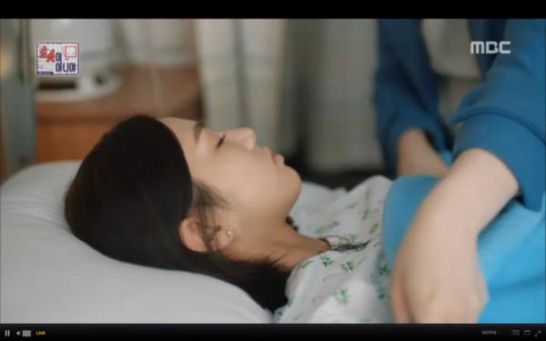 ▲▼趙智雅回到正常人生活後病倒。(圖/翻攝自MBC)