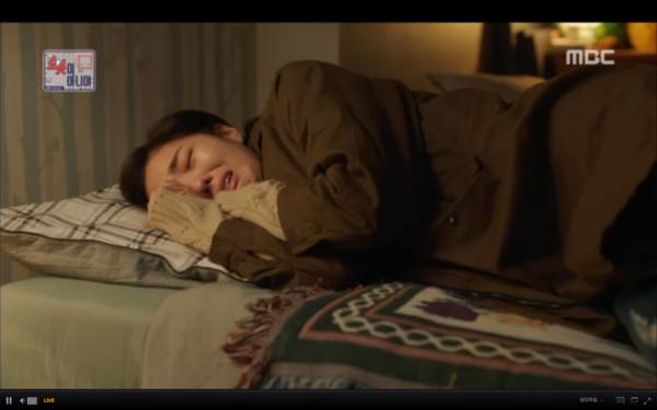 ▲▼雷/俞承豪:妳變成人的話,我會認出來! 失去機器人崩潰(圖/翻攝自MBC)