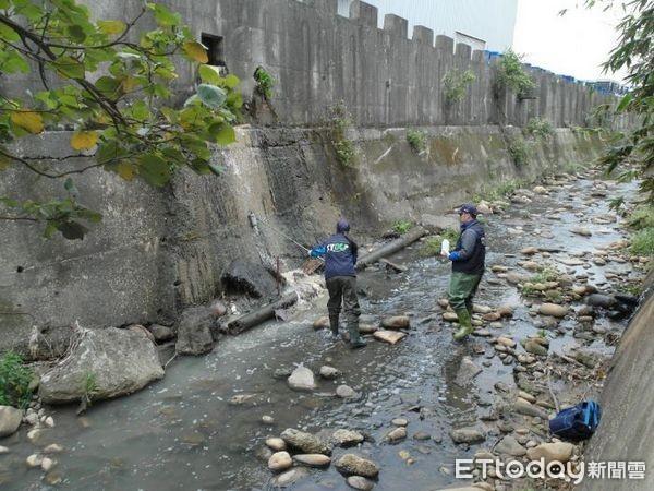 ▲給市民優質水環境,桃園市南崁溪流域擴大實施銅總量管制。(圖/環保局提供)