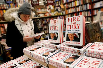 爆料川普新書 熱銷潮如哈利波特