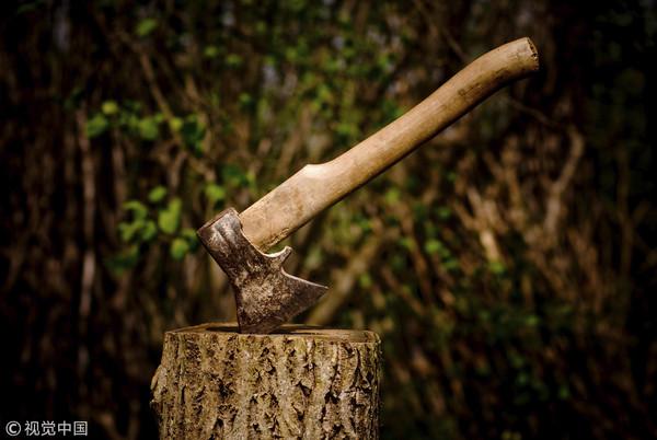 ▲▼ 砍柴,斧頭,殺人,暗殺,情殺。(圖/CFP)