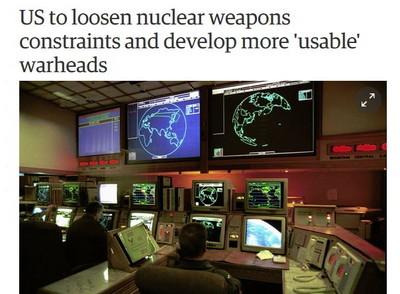 剉!川普有意鬆綁核武使用限制