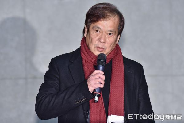 ▲▼華視總經理郭建宏開記者會說明遭董事會決議解任。(圖/記者李毓康攝)