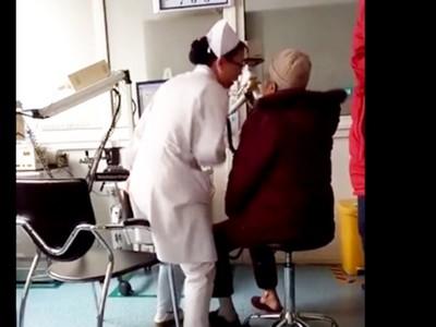 「吹不動了就猛吸!」白衣天使魔性教學 老病患愛上健康檢查