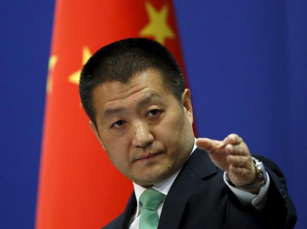 ▲▼中國大陸外交部發言人陸慷。(圖/路透社)
