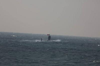 日研發無人潛水機 監控東海陸潛艦