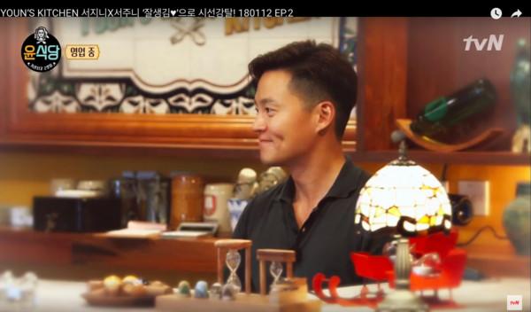 ▲▼《尹食堂》在西班牙開韓式餐廳。(圖/翻攝自tvN)