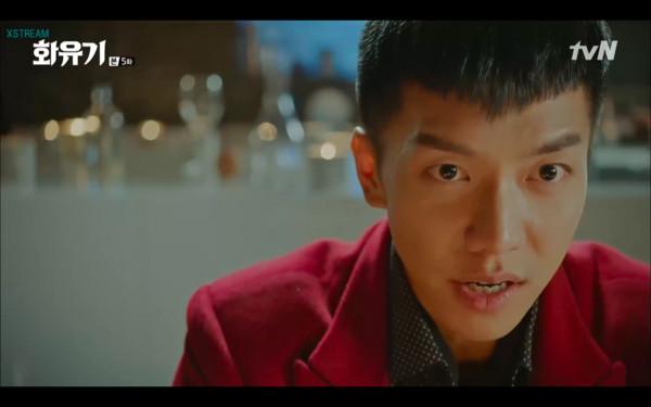 ▲▼雷/李昇基:我的痛苦你試試! 餵牛王魔喝唐三藏的血(圖/翻攝自tvN)