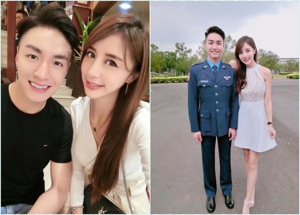 ▲▼空姐高鈺雯常PO出和弟弟的合照。(圖/翻攝Rita Kao臉書)。