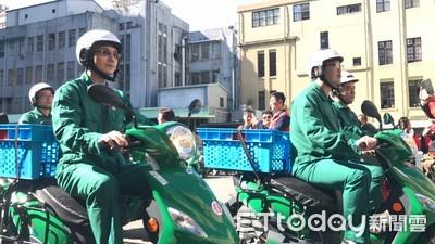 中華郵政「更綠了」!續購8百輛電動車