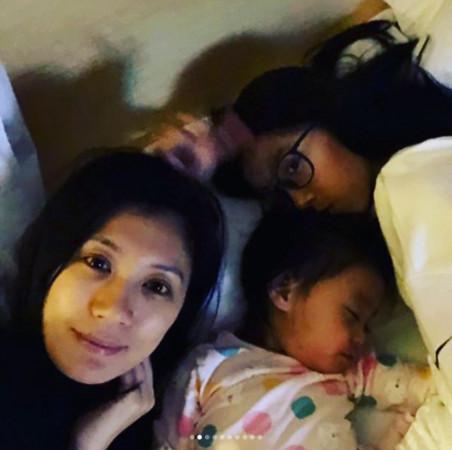 ▲梧桐妹是賈靜雯的大女兒,對妹妹咘咘、Bo妞都疼愛有加。(圖/翻攝自梧桐妹IG)