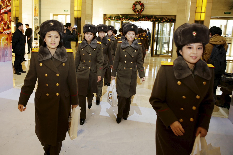 ▲北韓牡丹峰樂團素有「北韓少女時代」之稱。(圖/路透社)