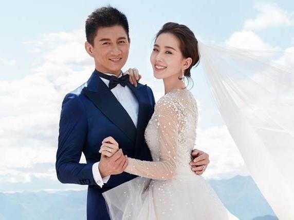 ▲吳奇隆、劉詩詩結婚3年仍感情甜蜜。(圖/資料照/de beers提供)
