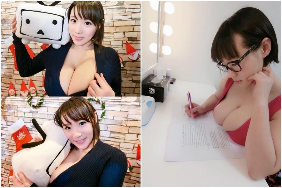 ▲AV女優澁谷果步用功讀書,拿下了日本英語1級與多益990滿分。(圖/翻攝自澁谷果步推特)