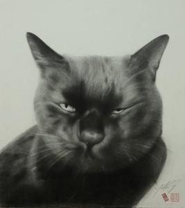 高橋行雄筆下的「貓系列」