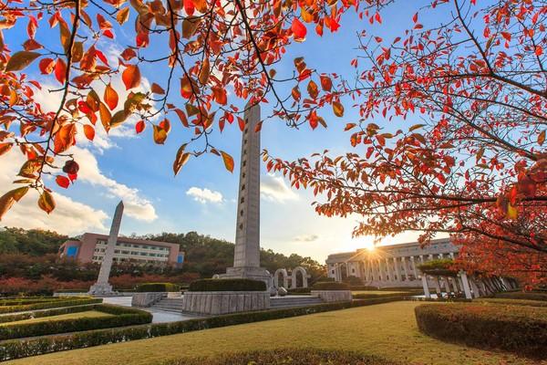 ▲▼慶熙大學2018年在QS世界大學排名中排名第256位,亞洲大學排名第33位。(圖/翻攝自慶熙大學臉書)