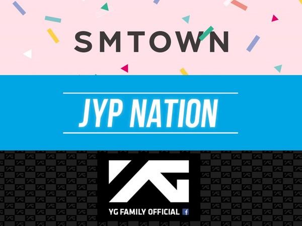 ▲2018年三大社SM、JYP、YG回歸計劃 網失望:○○呢?(圖/翻攝自SM、JYP、YG臉書)