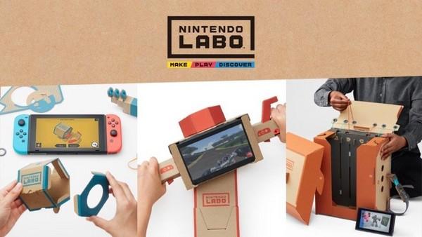 任天堂再定義遊戲的無限可能性!手作紙模型《Labo》體感遊戲公開。(圖/翻攝網路)