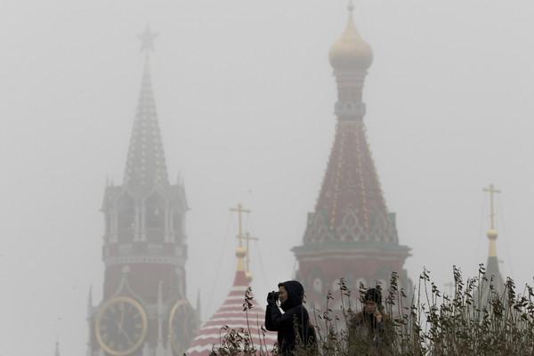 ▲▼整個月僅6分鐘有陽光,莫斯科經歷最黑暗12月。(圖/達志影像/美聯社)