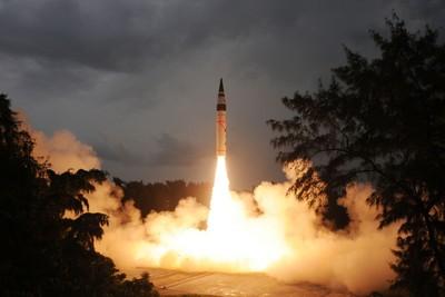 印度成功試射機動車載烈火-5飛彈