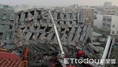 地震晃到大樓倒塌變鬆餅…搜救隊加強訓練!
