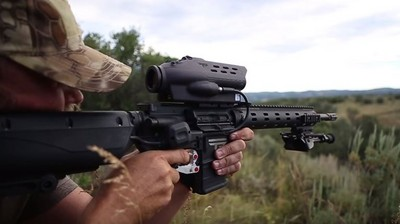 傻瓜狙擊外掛!保證1公里外「輕鬆爆頭」 武器商:這更人道