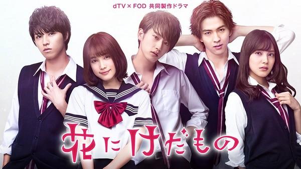 ▲▼日本5大高甜網路劇。(圖/翻攝自FOD、dTV推特、日網《AMAZON JP》)