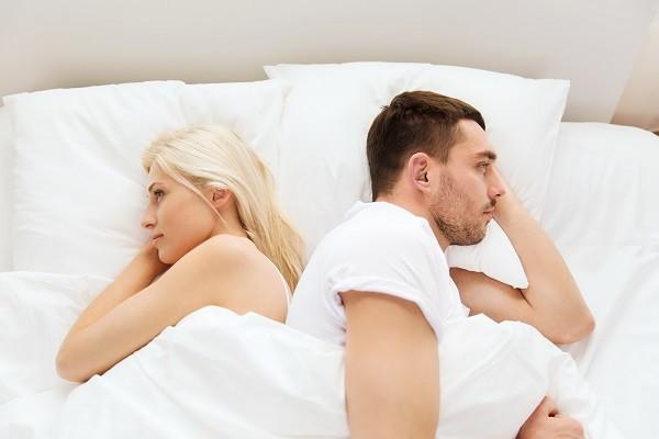 性事不和,睡覺,睡眠,情侶,男女,冷戰,吵架(圖/達志/示意圖)