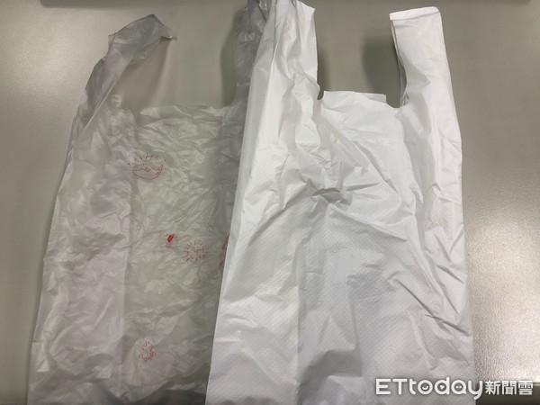 塑膠袋。(圖/記者陳俊宏攝)