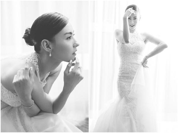▲▼張柏芝上傳多張婚紗美照,照片全洋溢著幸福甜笑。(圖/取自張柏芝官方微博)