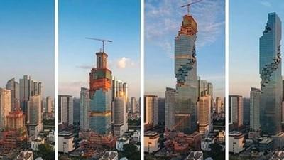 「像被狗啃兩口」泰最高大樓被嫌醜 晚上燈一亮…酸民全閉嘴