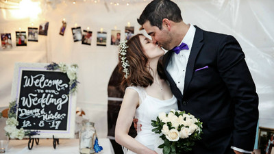 一晚搞定!暖男求婚成功後2小時趕結婚,全都源自他的「最貼心」