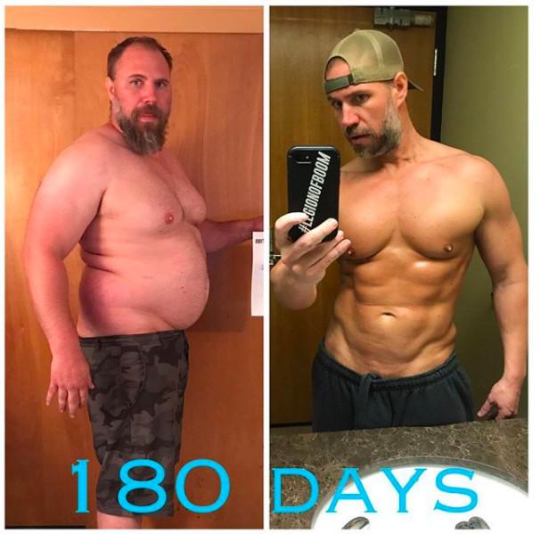中年肥肚爸花六個月甩油37公斤 變「6塊肌鮮肉」靠不吃一樣東西