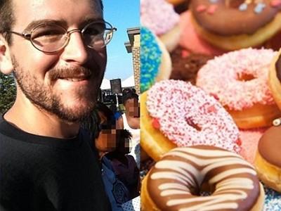 警察辦大胃王比賽 甜甜圈神偷奪冠站上台...等等你不是被通緝嗎