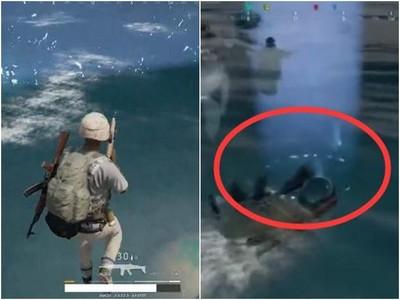 「絕地求生」最小毒圈在海上怎解 網友秒歪:這不是跳傘遊戲?