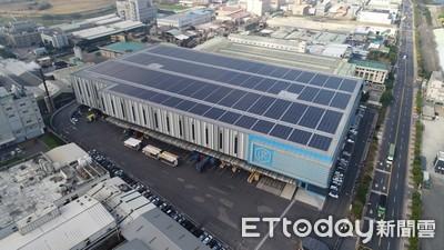 國壽建近5000坪屋頂太陽能發電 每年發電209萬度