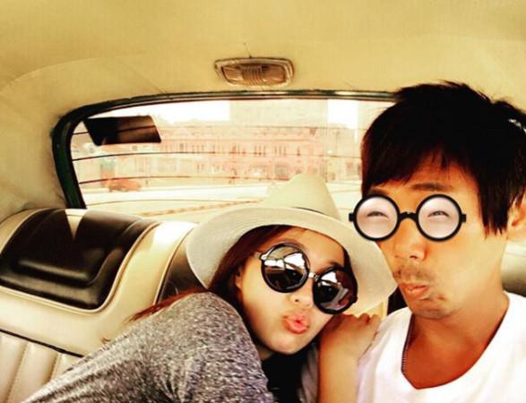 ▲信和WeiWei常出國旅遊。(圖/翻攝自WeiWei IG)