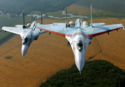 俄向克里米亞部署Su-27SM、Su-30M2
