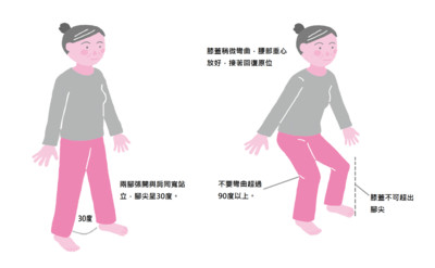年紀大走不動?7點增強下肢力防跌倒 圖解2大舒緩體操