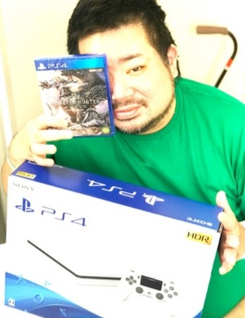 ▲拓也哥住院收到電玩由戲當禮物。(圖/翻攝自拓也哥Blog)