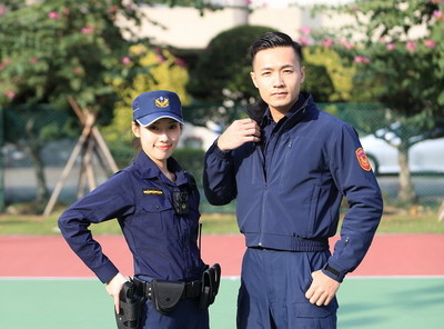 穿了30年的警察制服 4/18將全面換裝