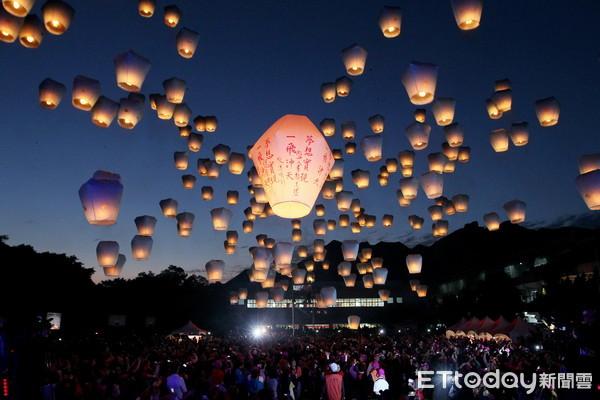 ▲▼2017新北市平溪天燈節。(圖/記者徐政璿攝)